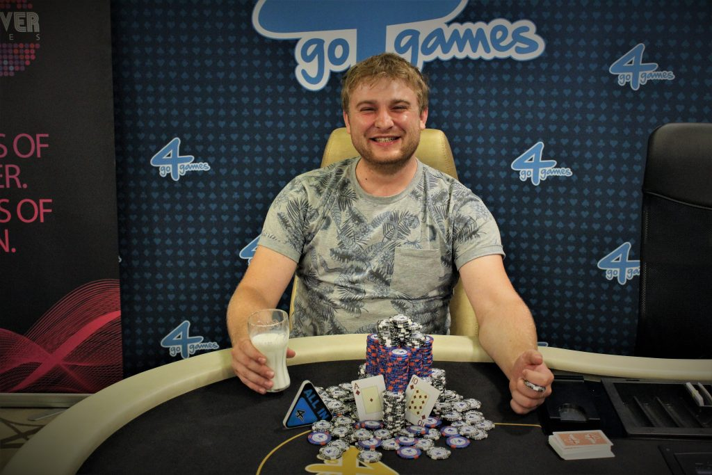 Vítěz poker turnaje Go4games Mini High Roller