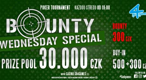 WEDNESDAY BOUNTY SPECIAL