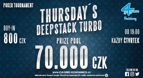 THURSDAY´S DEEPSTACK TURBO