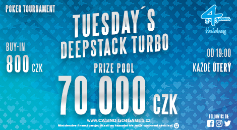 TUESDAY´S DEEPSTACK TURBO