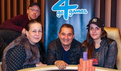30.3.2019 Poker turnaj Friday Special Ladies Night 50.000 Kč ukončen 4-way dealem