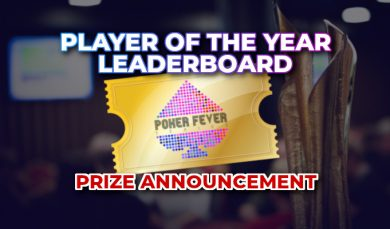 4.4.2019 Sbírej body do PFS player of the Year a hraj celý rok vybrané turnaje Poker Fever zadarmo!