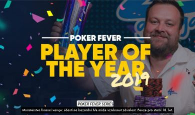 9.1.2020 Roman Papáček se stává hráčem Poker Fever Player of The Year