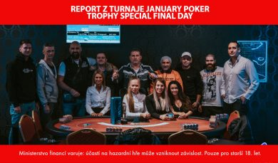 20.1.2020 V January Poker Trophy Specialu vítězí Rakeťák