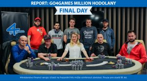 23.2.2020 Report Go4games Million Final Day: Vítěz si odnesl 180.900 Kč!