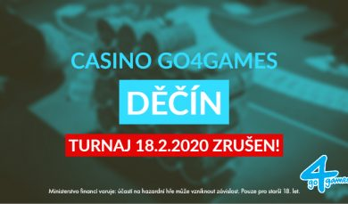 18.2.2020 Pozor! Zrušen turnaj Satellite to February Poker Trophy special 5x etntry to Day A/B/C