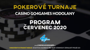 26.6.2020 Poker events G4G Hodolany July 2020