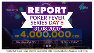 1.9.2020 Poker Fever Series: Trofej z Main Eventu jede zásluhou Lukáše Macury do Prahy!