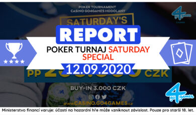 13.9.2020 Jašek, Lón a Prekop v dealu poker turnaje Saturday Special